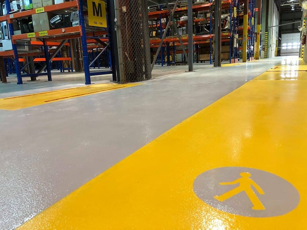 industrial warehouse floor coating